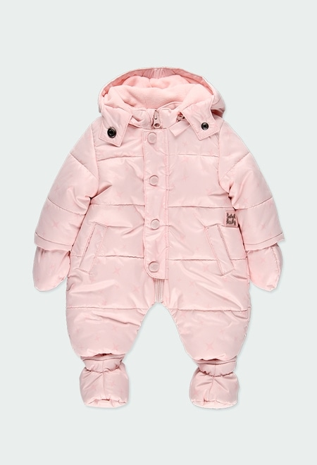 Technical fabric babygrow stars for baby_1
