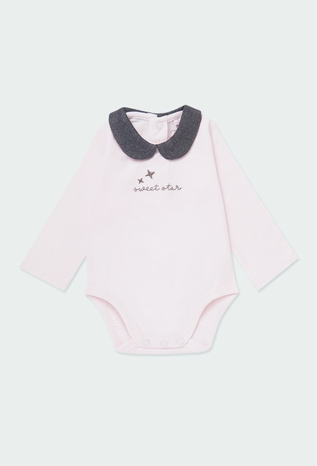 "Bodysuit ""star"" for baby girl_1"