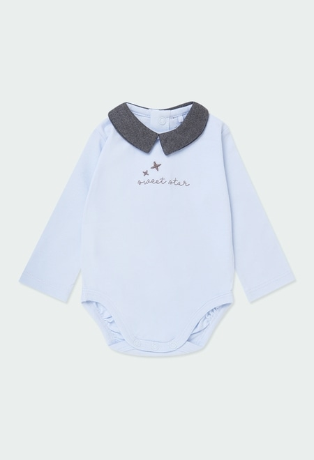 """Pack knit """"stars"""" for baby boy_1"""
