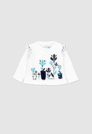 Camiseta manga comprida para o bebé menina_1