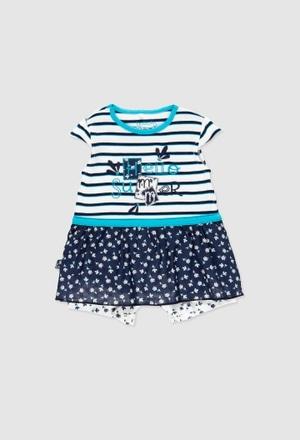 Babygrow combinado para o bebé menina_1