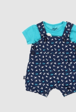 Short dungarees for baby boy_1