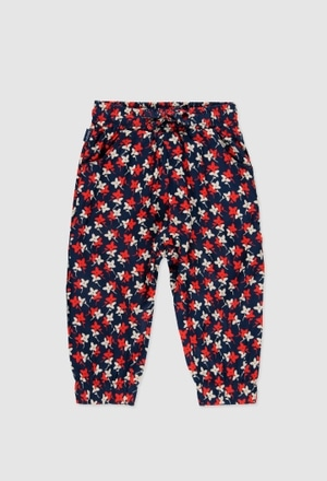 Viscose trouser for baby girl_1