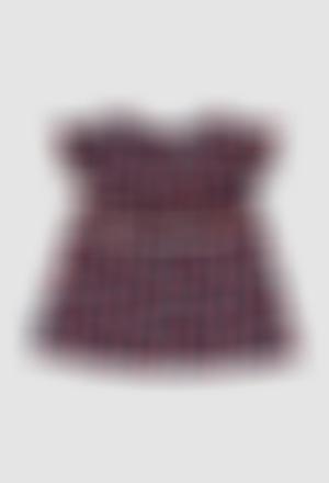 Blusa viscose para o bebé menina