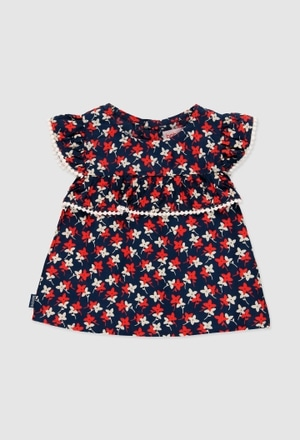 Blusa viscose para o bebé menina_1