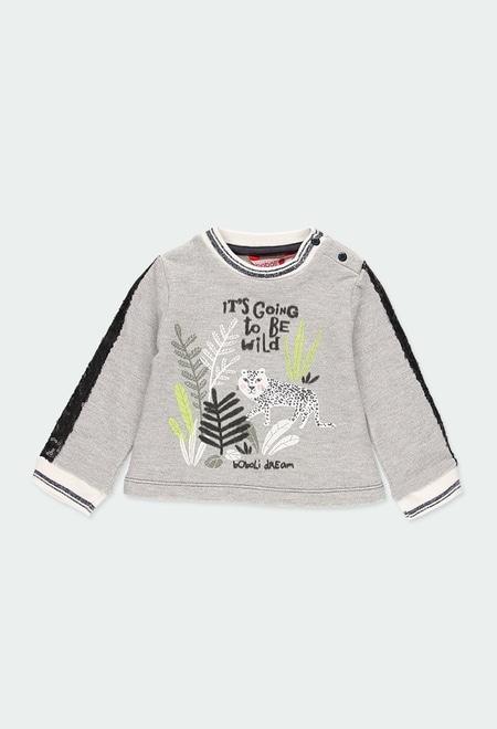 Sweatshirt felpa do bébé_1