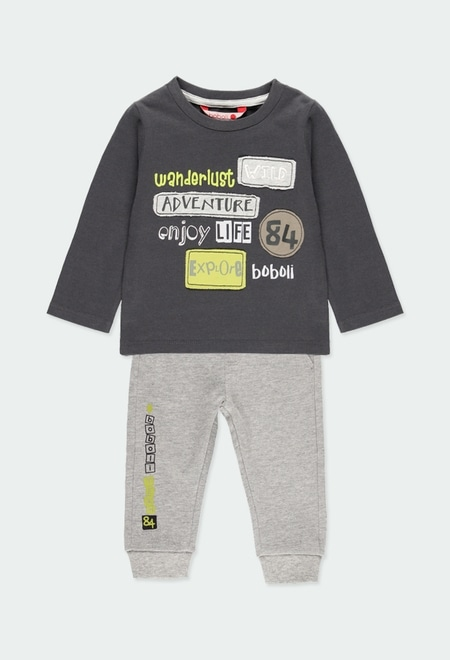 """Pack knit """"adventure"""" for baby boy_1"""