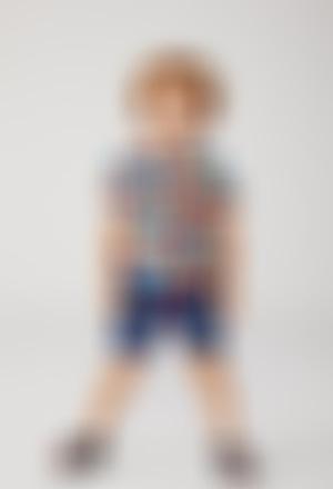 Poplin shirt for baby boy