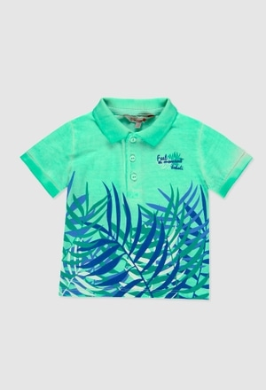 Knit polo for baby boy_1