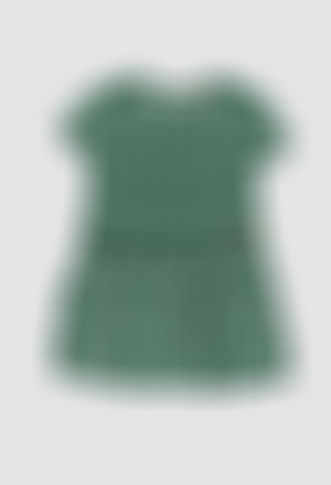 Viscose dress for girl
