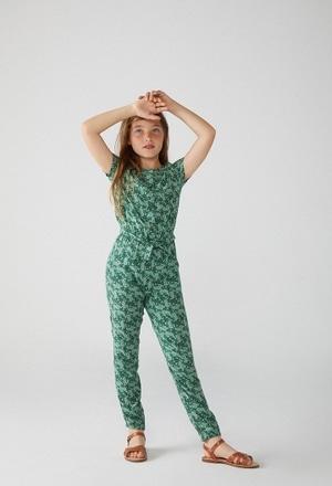 Viscose jumpsuit for girl_1
