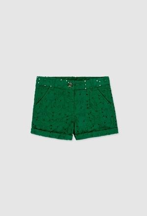 Batiste shorts for girl_1