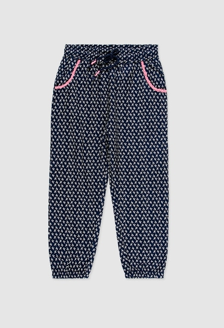 Viscose trouser for girl_1