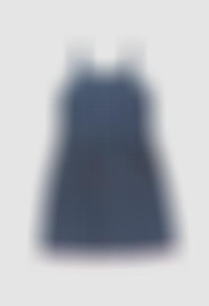 Viscose dress for girl