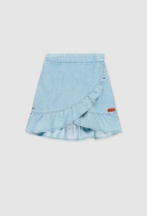 Skirt denim for girl_1