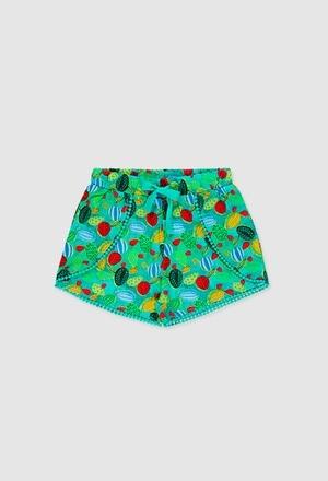 Viscose shorts for girl_1