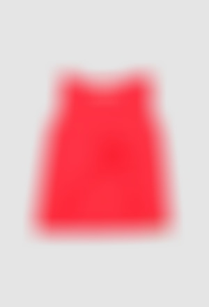 Knit t-Shirt flame for girl