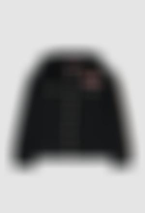 Fleece jacket fake fur for girl