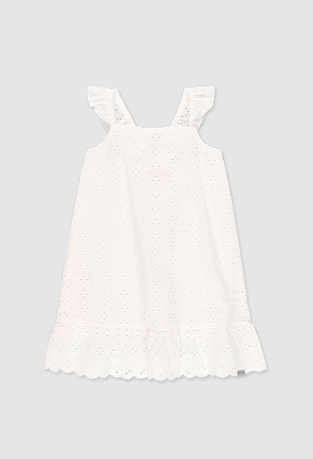 Vestido cambraia bordada para menina_1