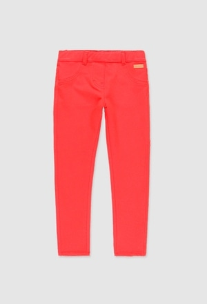 Fleece trousers stretch for girl_1