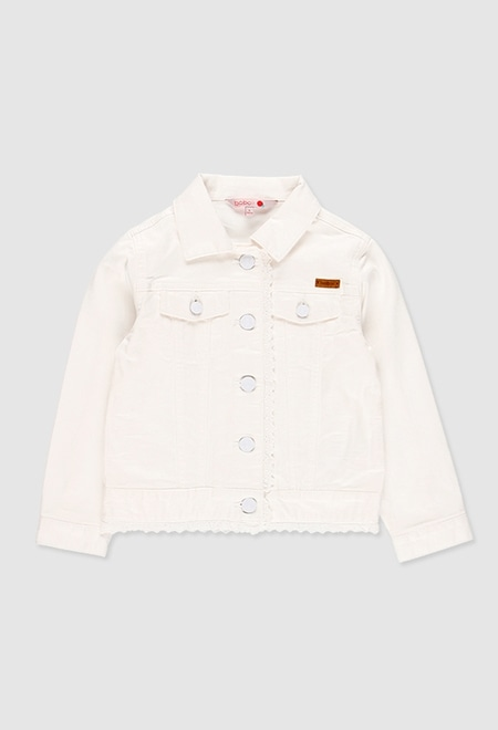 Blusão sarja elástica para menina_1