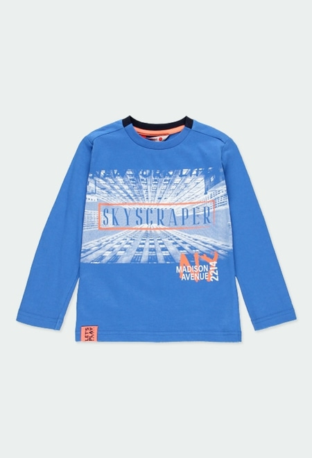 """Knit t-Shirt """"new york"""" for boy_1"""