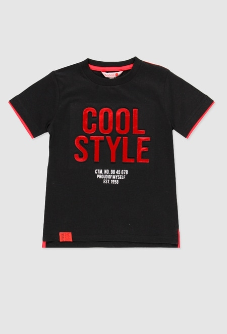 Camiseta de algodão para menino_1