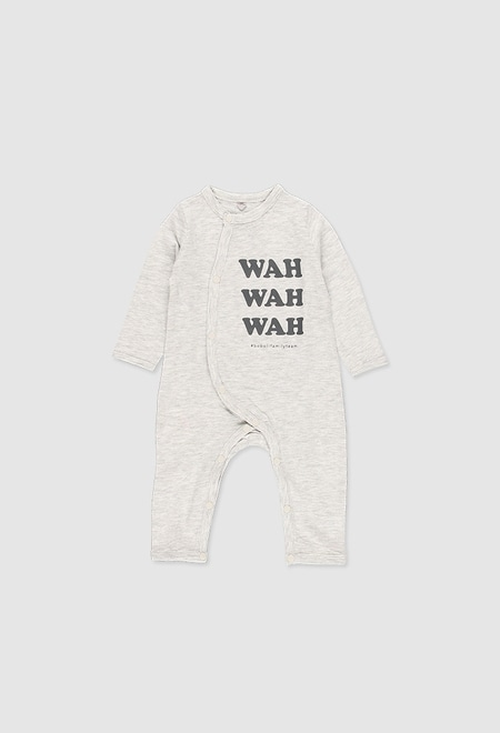 Play suit knit flame for baby_1