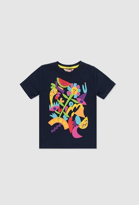 Camiseta de algod?o unisex_1
