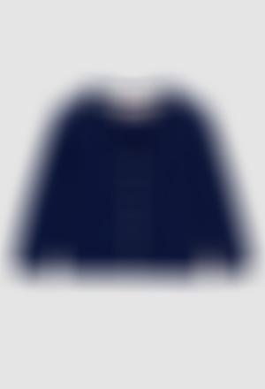 Casaco tricot para o bebé menino