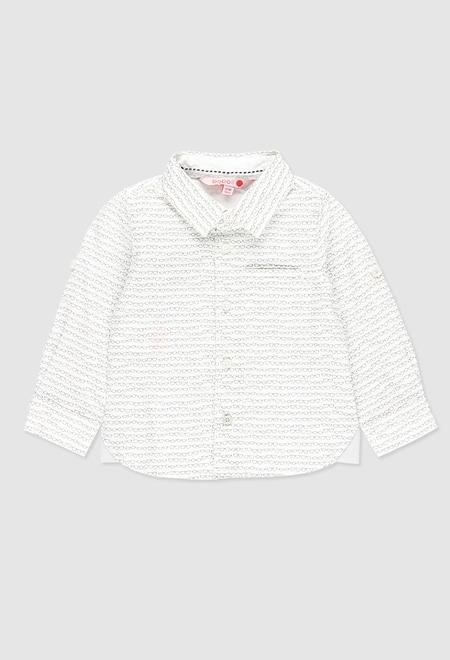 Camisa poplin para o bebé menino_1