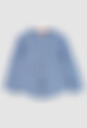 Camisa manga comprida para o bebé menino