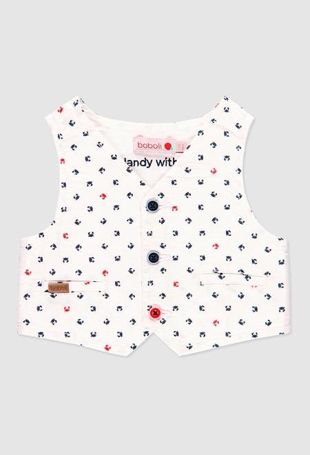 Colete oxford para o bebé menino_1