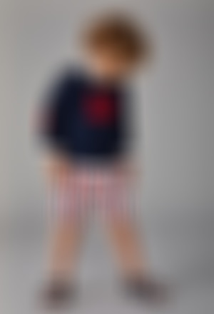 Pullover tricot para o bebé menino