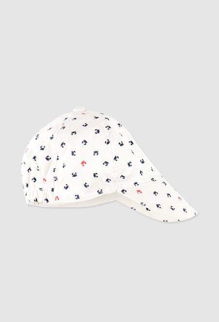 Cap oxford for baby boy_1