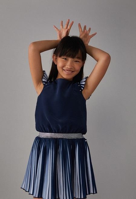 Chiffon dress for girl_1