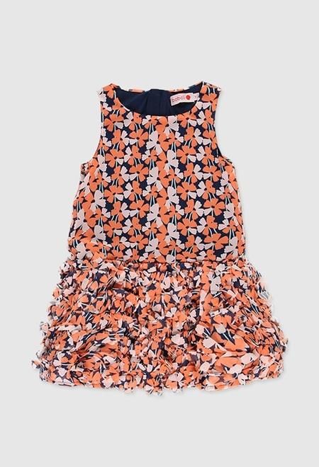 Vestido gasa para menina_1