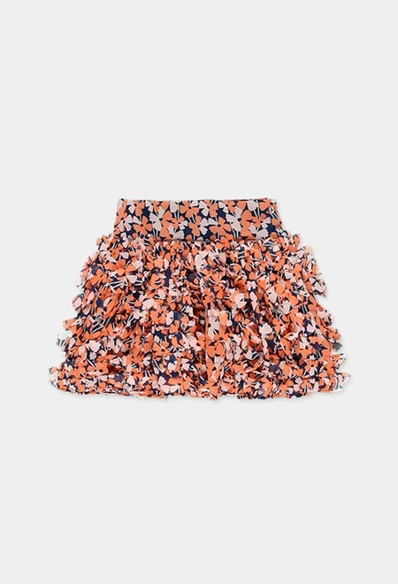 Skirt with gauze for girl_1