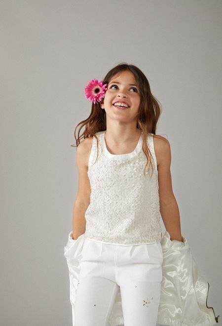 Tulle shirt for girl_1