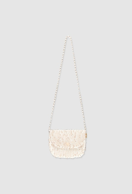 Bolsa de mão com tule para menina_1