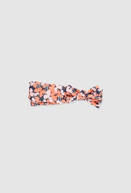Diadema floral para menina_1