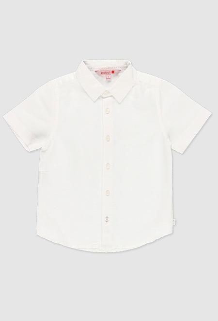 Linen shirt short sleeves for boy_1