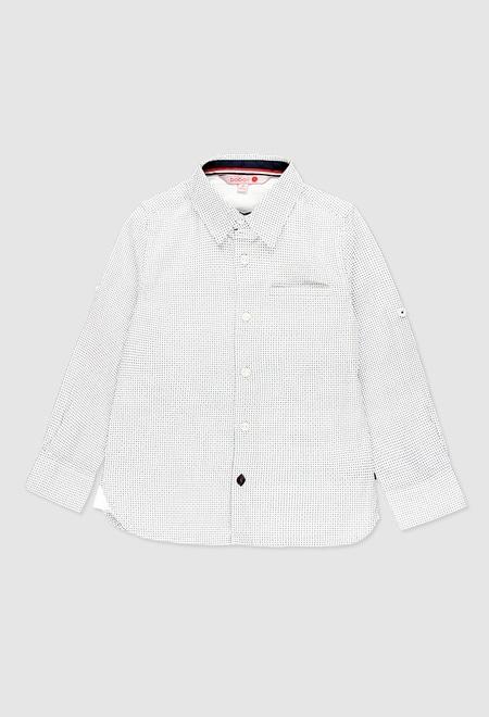 Poplin shirt for boy_1