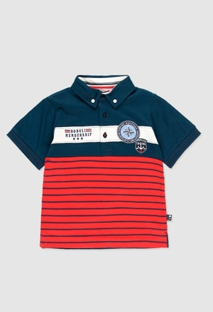 Knit polo for boy_1