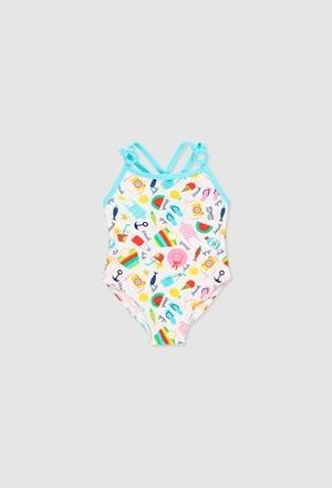 Swimsuit polyamide for baby girl_1