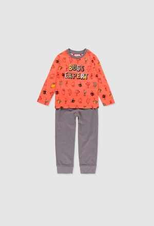Knit pyjamas for boy_1